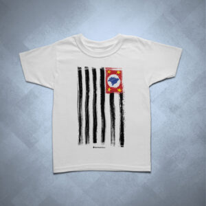 19310A 1 300x300 - Camiseta Infantil Bandeira SP Ilustrada