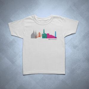 19310D 1 300x300 - Camiseta Infantil Silhueta SP Colorida 2
