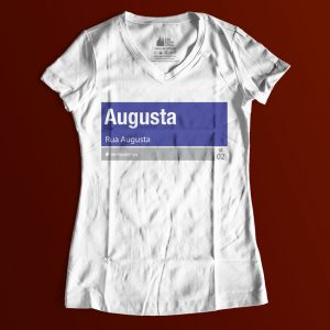 "1B0D81 3 300x300 - Baby Look Feminina Gola ""V"" Rua Augusta"