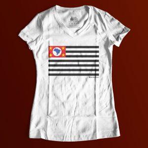 "1B0D86 3 300x300 - Baby Look Feminina Gola ""V"" Bandeira SP"