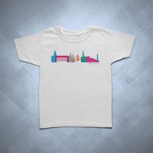 32B9FE 1 300x300 - Camiseta Infantil Silhueta SP Colorida