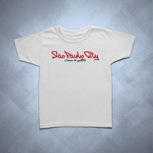 32BA04 1 300x300 - Camiseta Infantil São Paulo City Terra do Graffiti