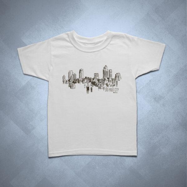 32BA1D 1 600x600 - Camiseta Infantil Cidade Ilustrada SP