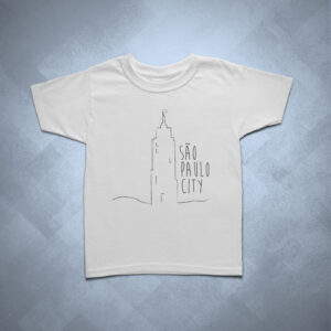 32BA20 1 300x300 - Camiseta Infantil Banespa SP City