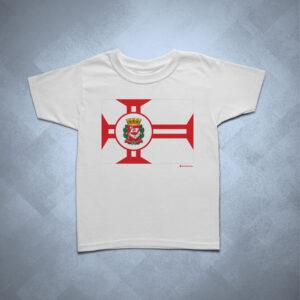 32BA23 1 300x300 - Camiseta Infantil Bandeira Cidade de São Paulo