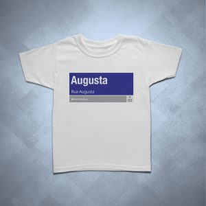 32BA25 1 300x300 - Camiseta Infantil Rua Augusta
