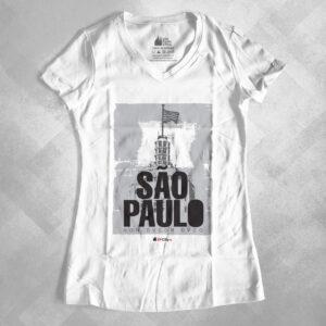"""42EA91 2 300x300 - Baby Look Feminina Gola """"V"""" São Paulo Non Dvcor Dvco by Miguel Garcia"""
