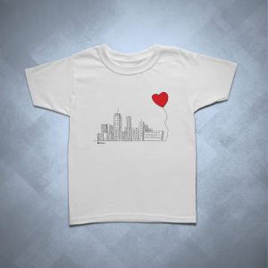 42EC04 1 300x300 - Camiseta Infantil SP Cidade Coração by Miguel Garcia