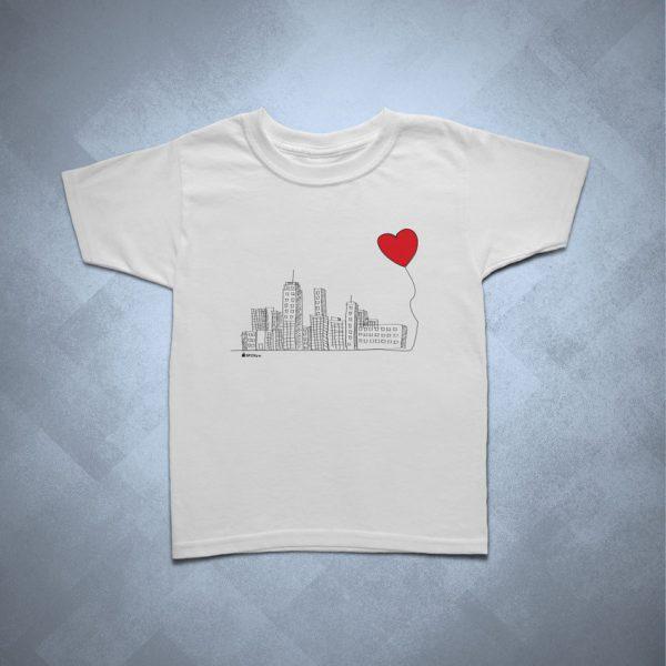 42EC04 1 600x600 - Camiseta Infantil SP Cidade Coração by Miguel Garcia