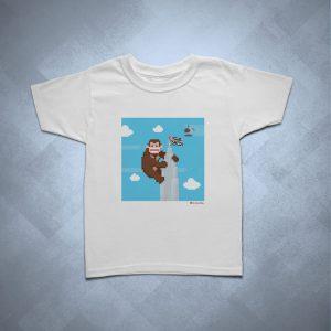 42EC05 1 300x300 - Camiseta Infantil King Kong Banespa by Miguel Garcia