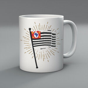 42F219 2 300x300 - Caneca Mini Bandeira SP by Miguel Garcia