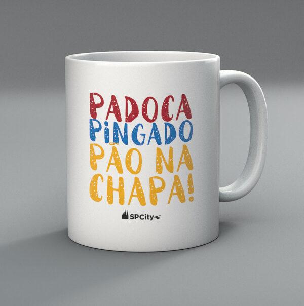 42F225 1 600x604 - Caneca Padoca, Pingado e Pão na Chapa