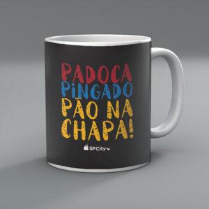42F225 2 300x300 - Caneca Padoca, Pingado e Pão na Chapa