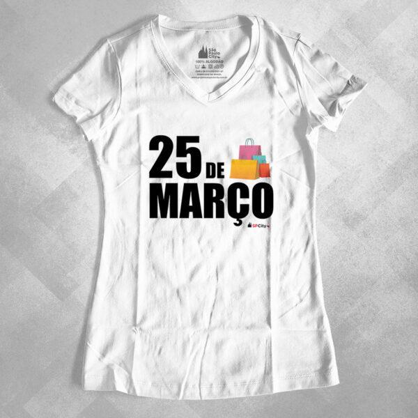 """631E11 1 600x600 - Baby Look Feminina Gola """"V"""" 25 de Março - São Paulo"""