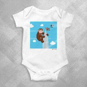 AA32 Branca 1 300x300 - Body Infantil King Kong Banespa by Miguel Garcia