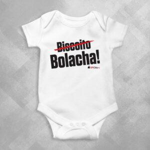 CC69 Branca 1 300x300 - Body Infantil SP Bolacha by Miguel Garcia