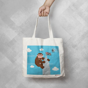 PH58 1 300x300 - Ecobag King Kong Banespa by Miguel Garcia