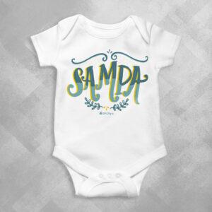XE84 Branca 1 300x300 - Body Infantil Sampa Samba by Lucas Motta