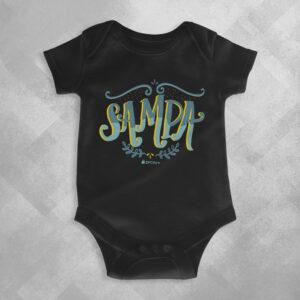 XE84 Preta 1 300x300 - Body Infantil Sampa Samba by Lucas Motta