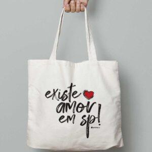Ecobag Existe Amor em SP
