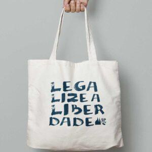 Ecobag Legalize a Liberdade